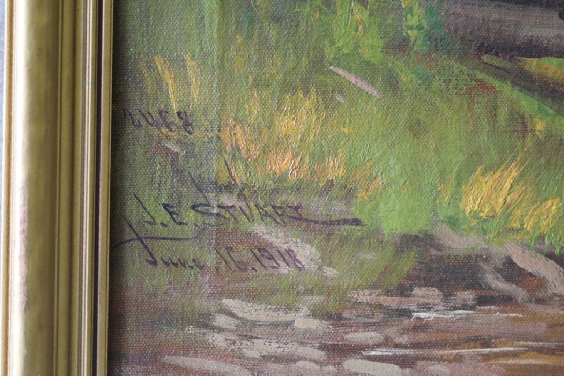 1918 James Everett Stuart Forest Landscape - 3