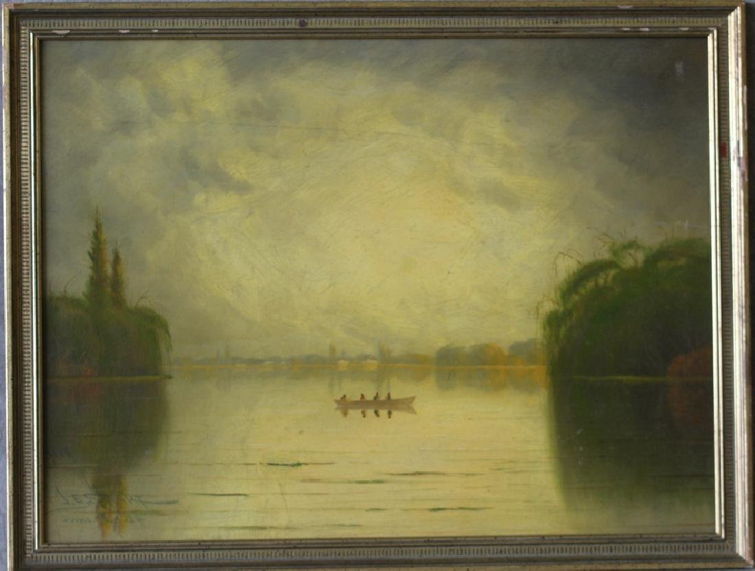 1924 James Everett Stuart Sacramento River - 2