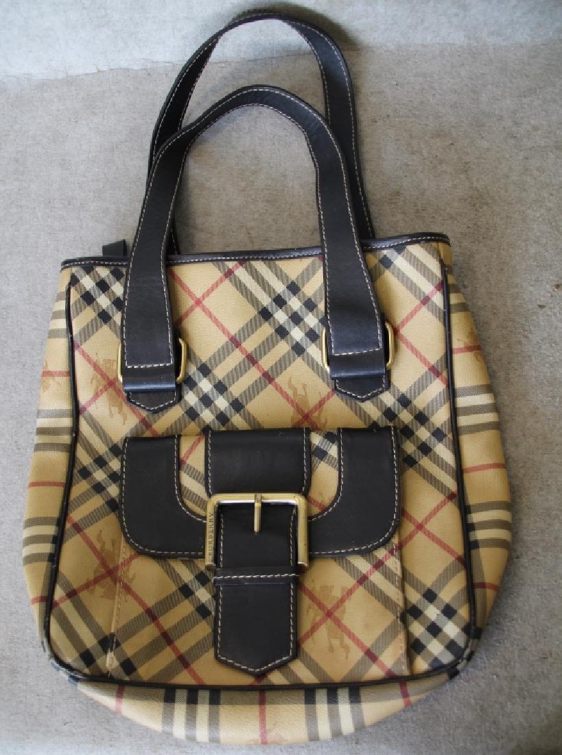 Gently Used Burberry London Shoulder Bag