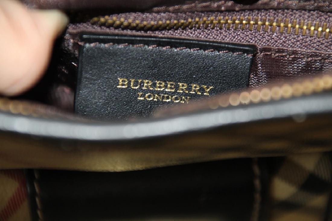 Gently Used Burberry London Shoulder Bag - 4
