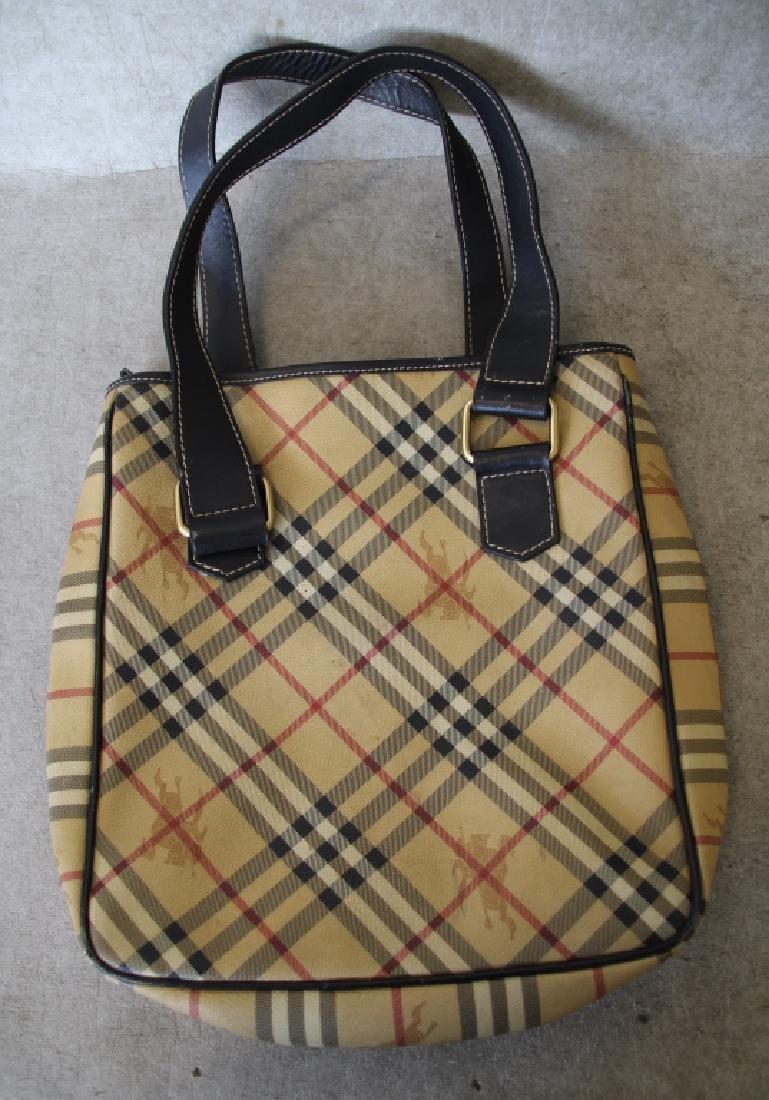 Gently Used Burberry London Shoulder Bag - 5
