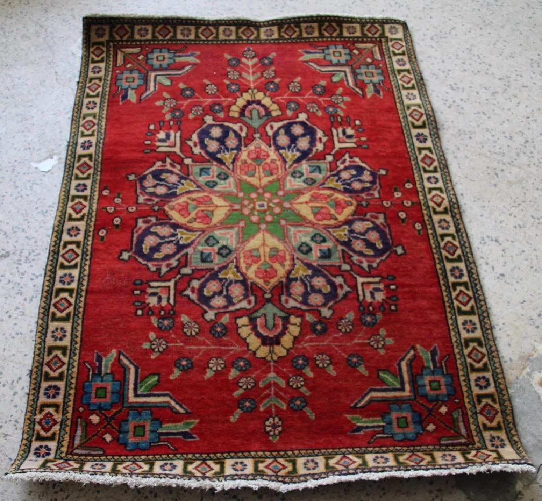 1940's Persian Tabriz Carpet Rug - #32