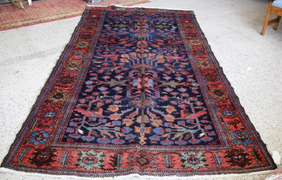 ca. 1940's Persian Bakhtiary Carpet Rug - V-4778