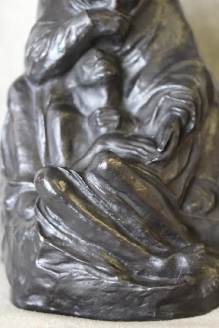Kathe Kollwitz Pieta Bronze Noach Foundry Berlin - 10