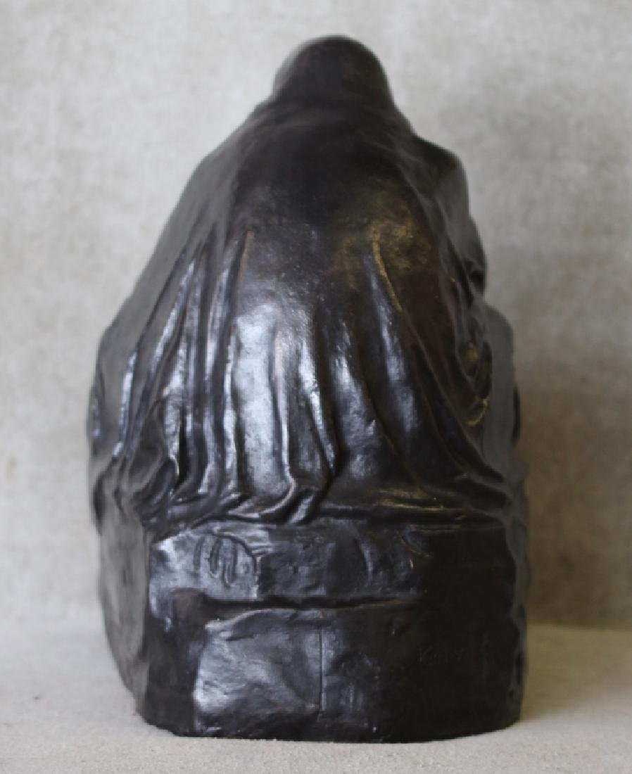 Kathe Kollwitz Pieta Bronze Noach Foundry Berlin - 5