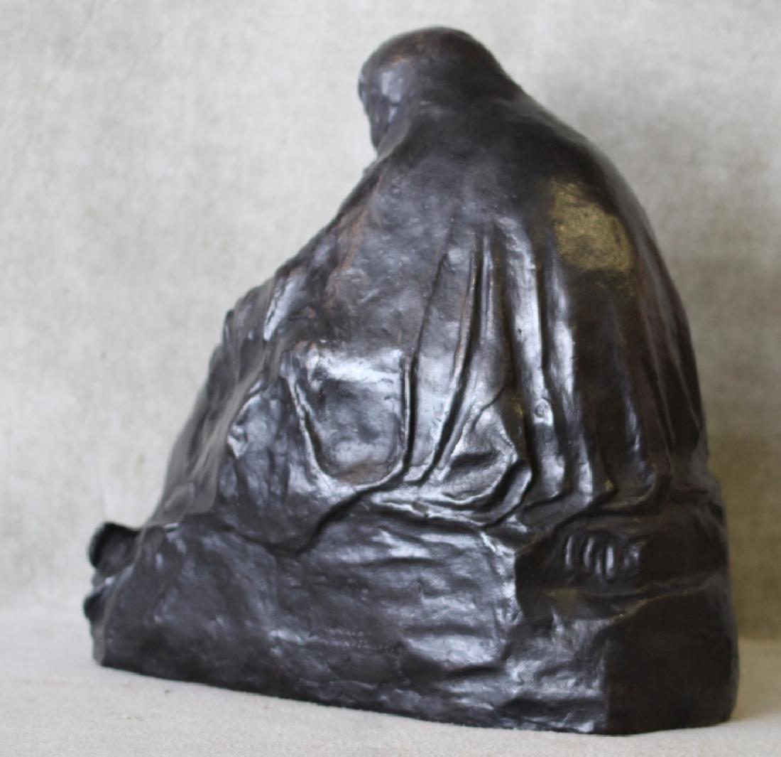 Kathe Kollwitz Pieta Bronze Noach Foundry Berlin - 6