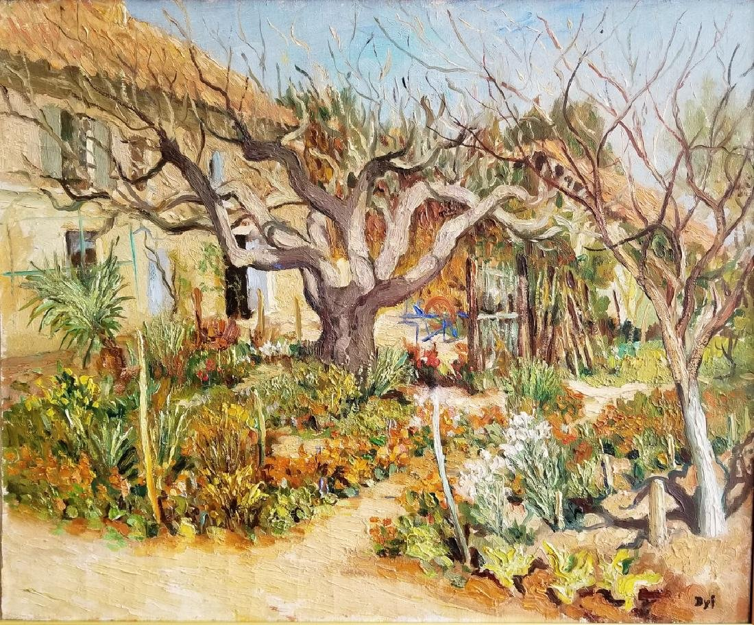 Marcel Dyf Impressionist O/C