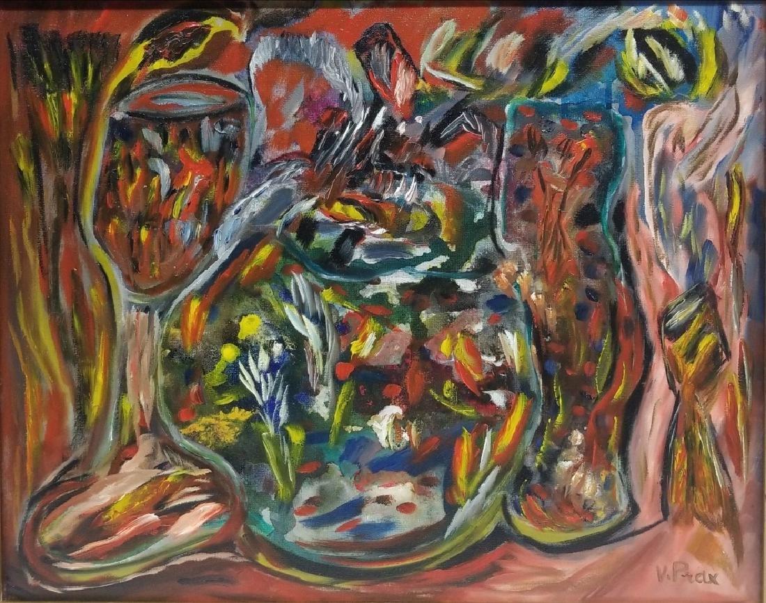 Valentine Henriette Prax Zadkine Expressionist O/C