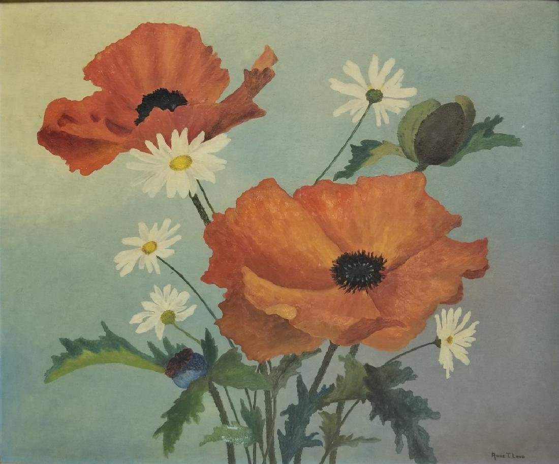 Anne T. Lang O/C California Poppies
