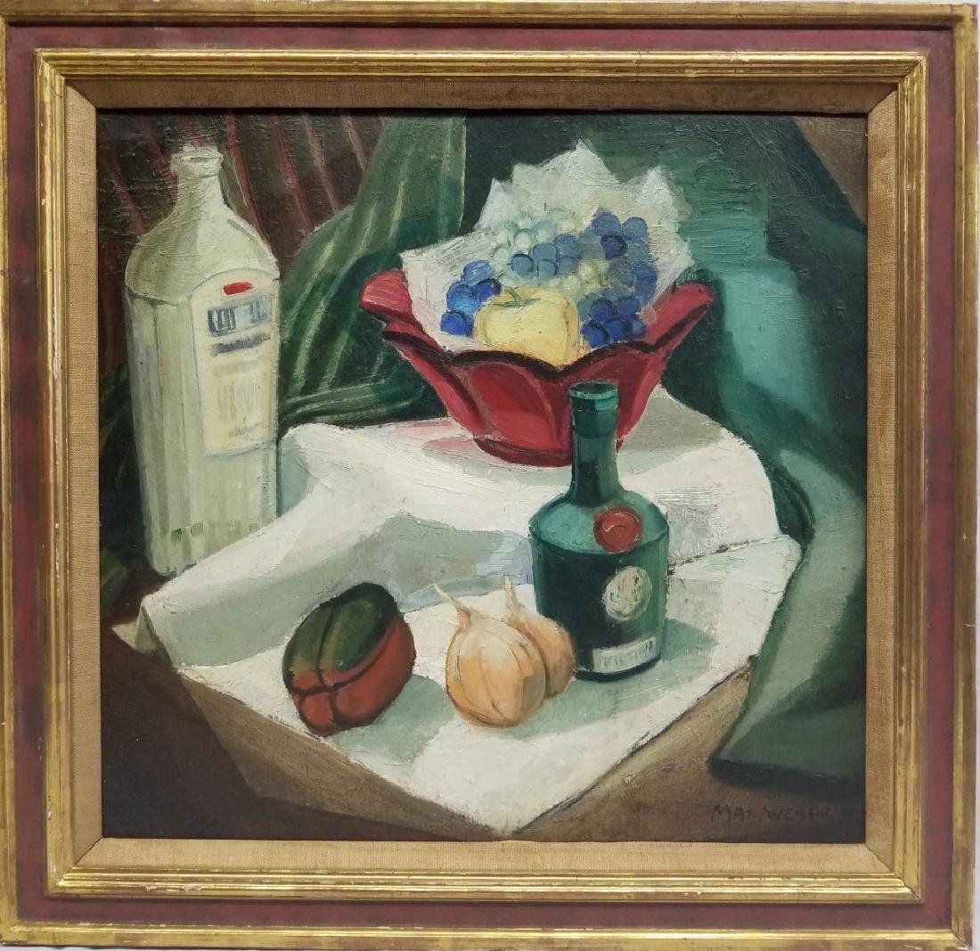 1941 Max Weber O/B Still-life