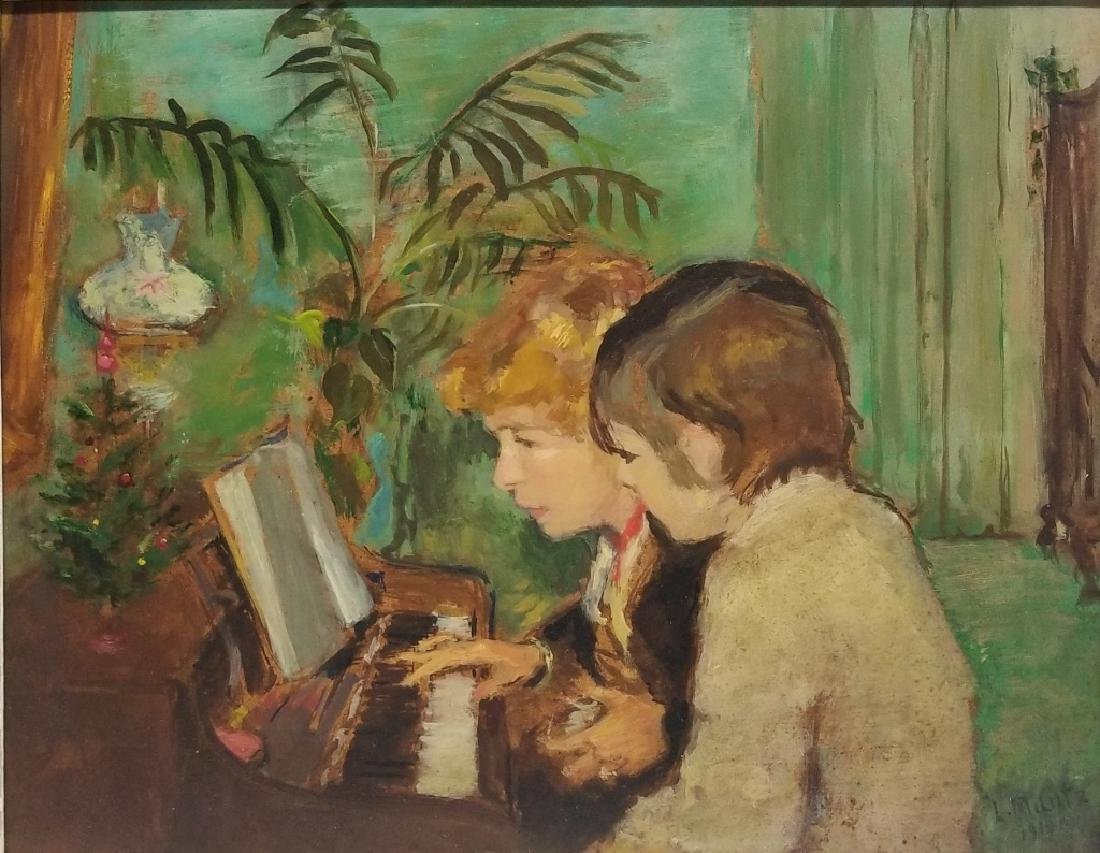 Laura Adeline Muntz-Lyall O/B The Piano Lesson