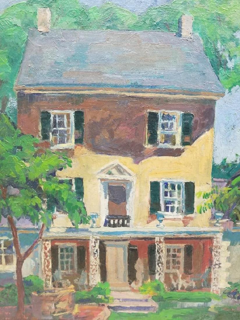 Fern Isabel Kuns Coppedge O/C Portrait of a House - 4