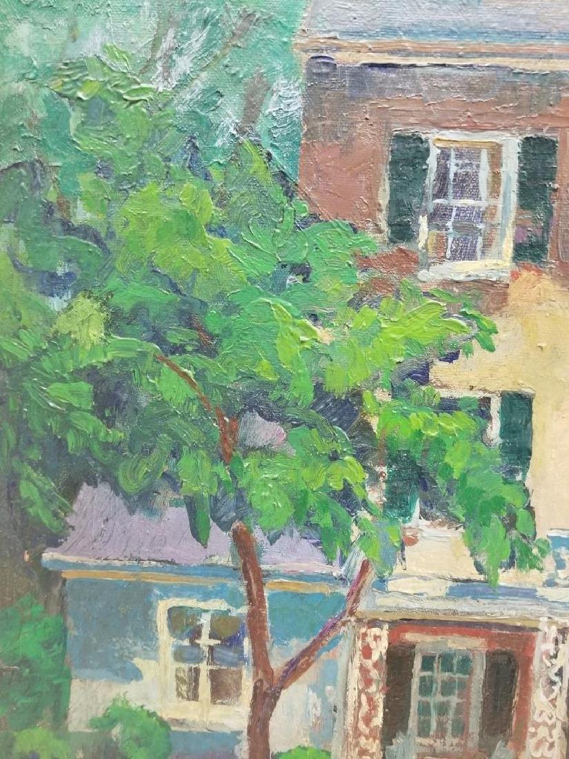 Fern Isabel Kuns Coppedge O/C Portrait of a House - 5