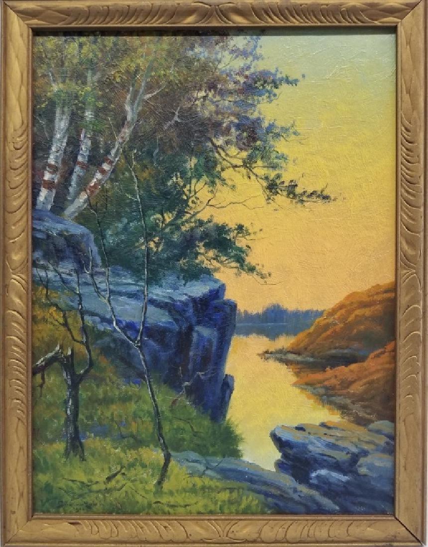William Gilman Low O/B Landscape