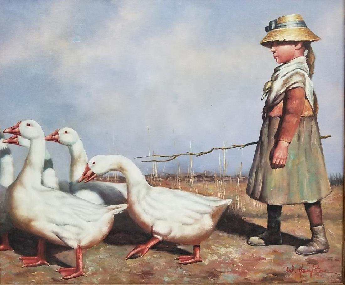 W. Hampton O/C After James Guthrie To Pastures New
