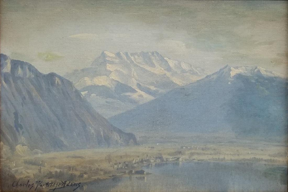 Charles Partridge Adams Rocky Mountain Landscape