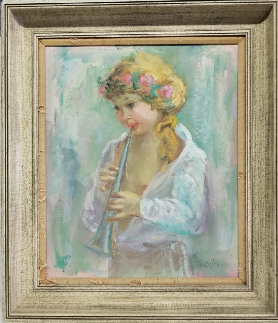 Fiedler O/C Girl with a Flute