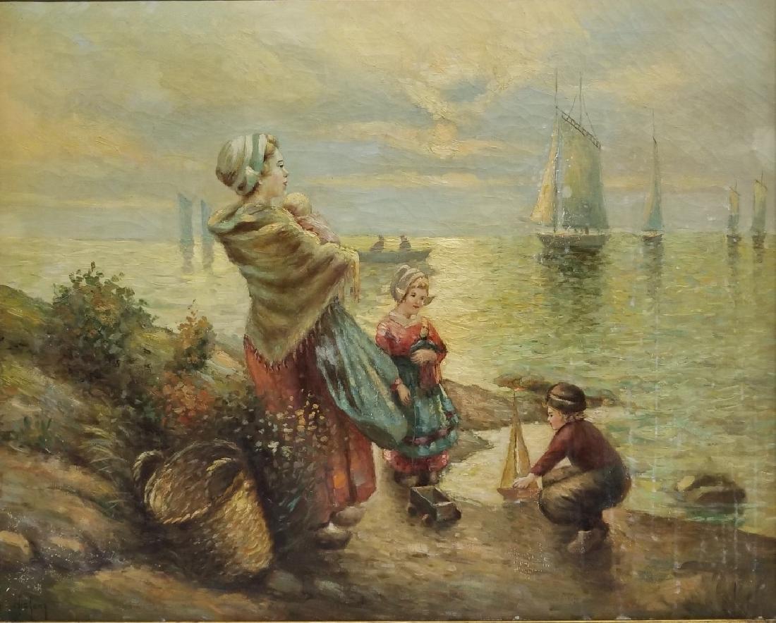 Nicholas Lenz O/C Coastal Genre Scene