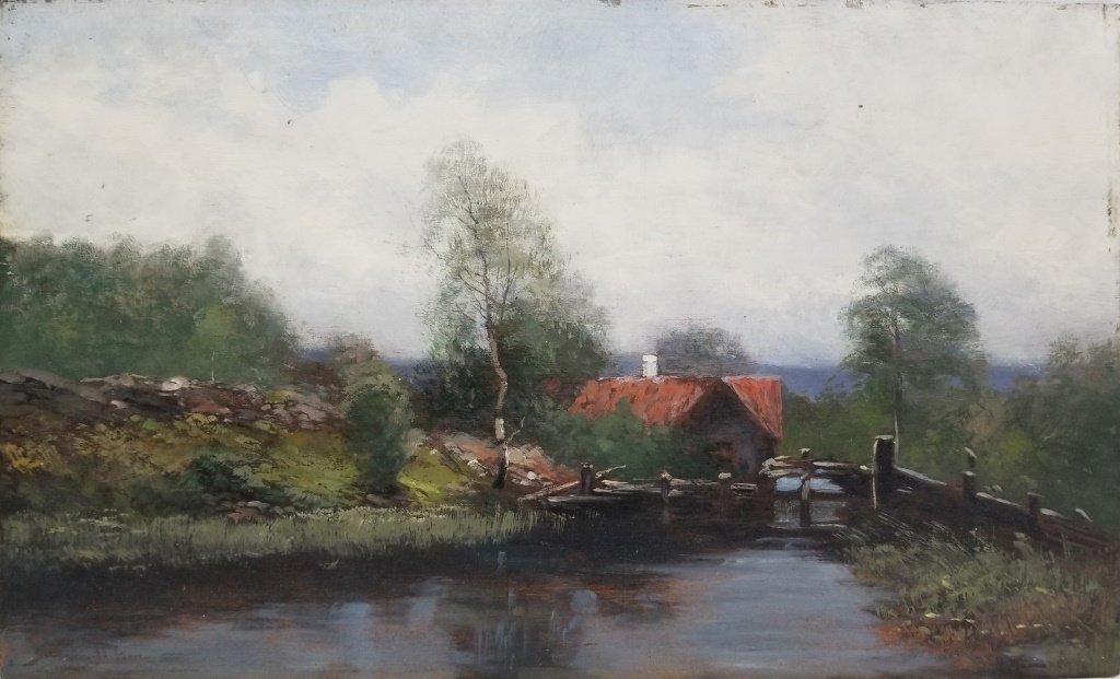 Johan Severin Nilsson O/B Landscape