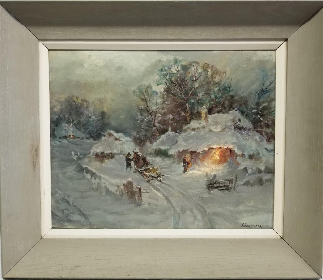 Frank Ferruzza O/B Winter Landscape