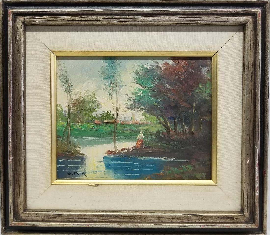 James Lawson Balfour O/C River Landscape