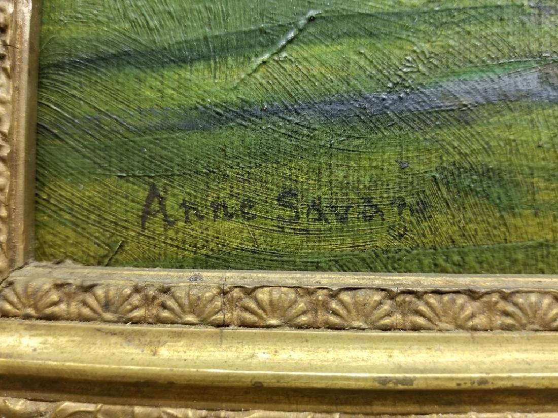 Anne Douglas Savage O/B Landscape with a Barn - 2
