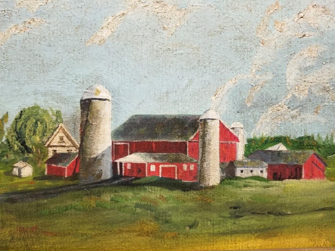 Anne Douglas Savage O/B Landscape with a Barn - 4
