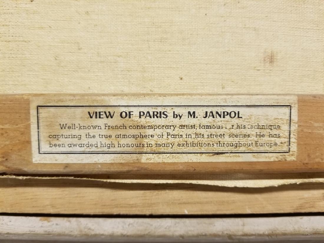 M. Janpol O/C Ponte Alexandre et la Tour Eiffel - 4
