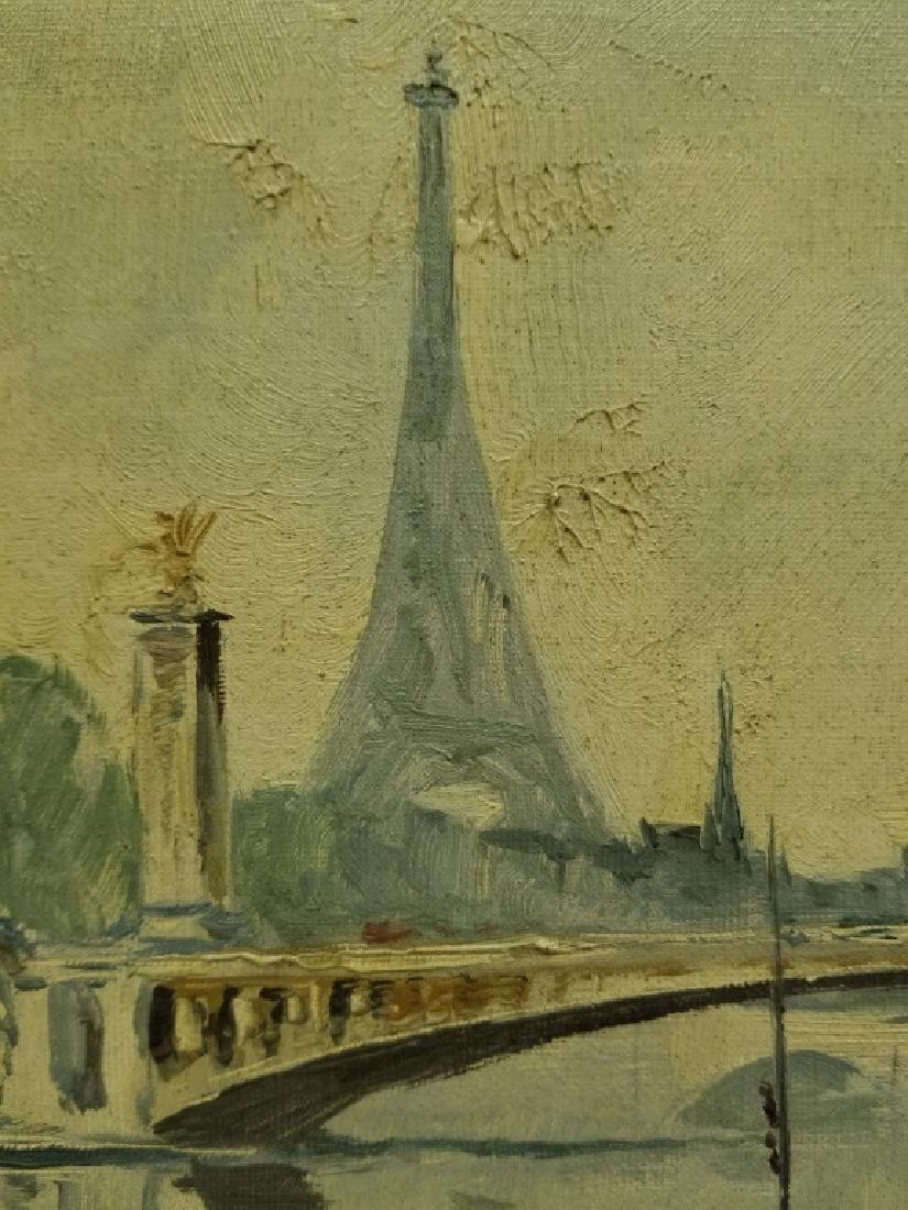 M. Janpol O/C Ponte Alexandre et la Tour Eiffel - 7