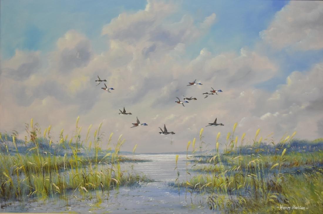 Henry Stanton O/C After Mallards in Flight