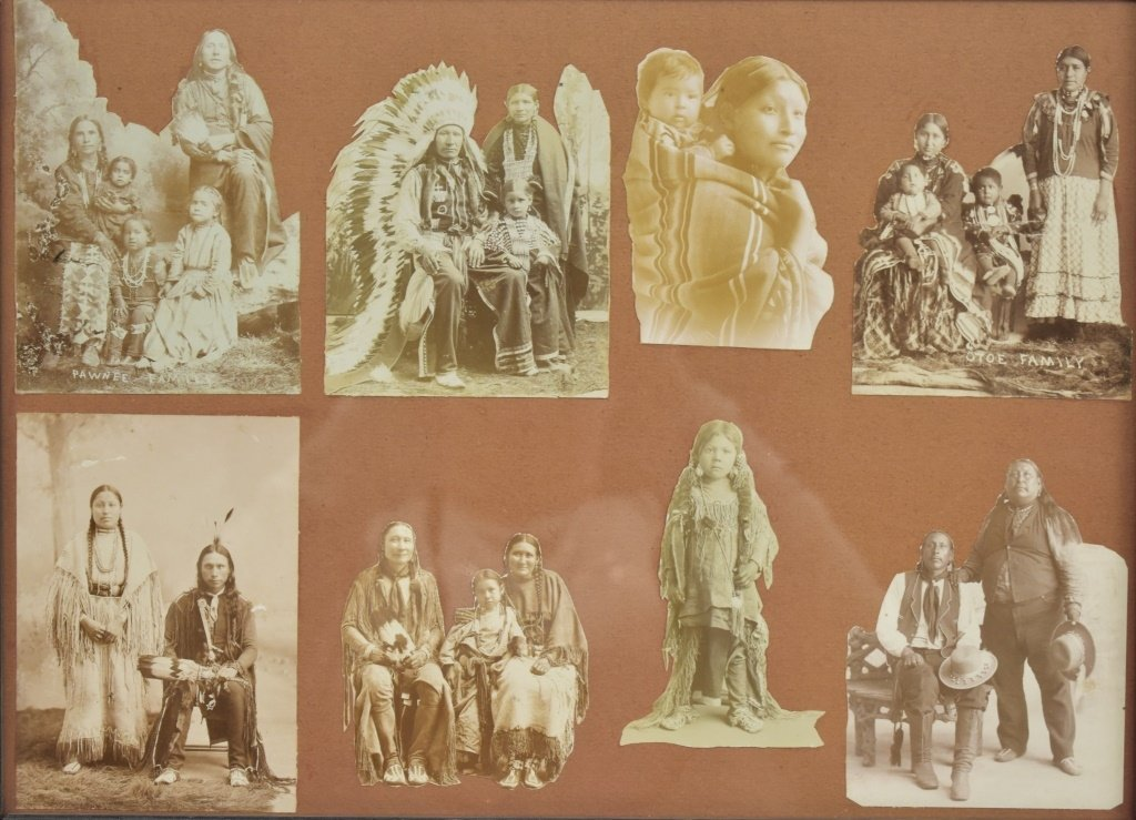 ca. 1890 Native American Photograph Collection