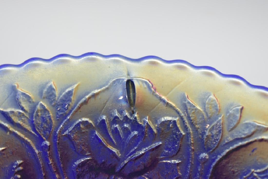 1911 Fenton Dragon & Lotus Spatula Footed Bowl - 5