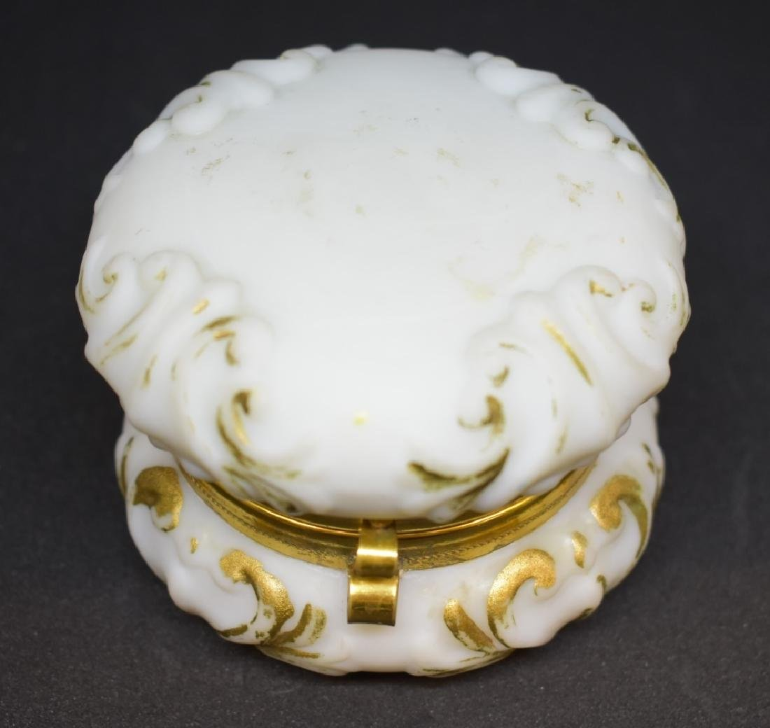 Early Wavecrest Trinket  Box Jewelry Casket