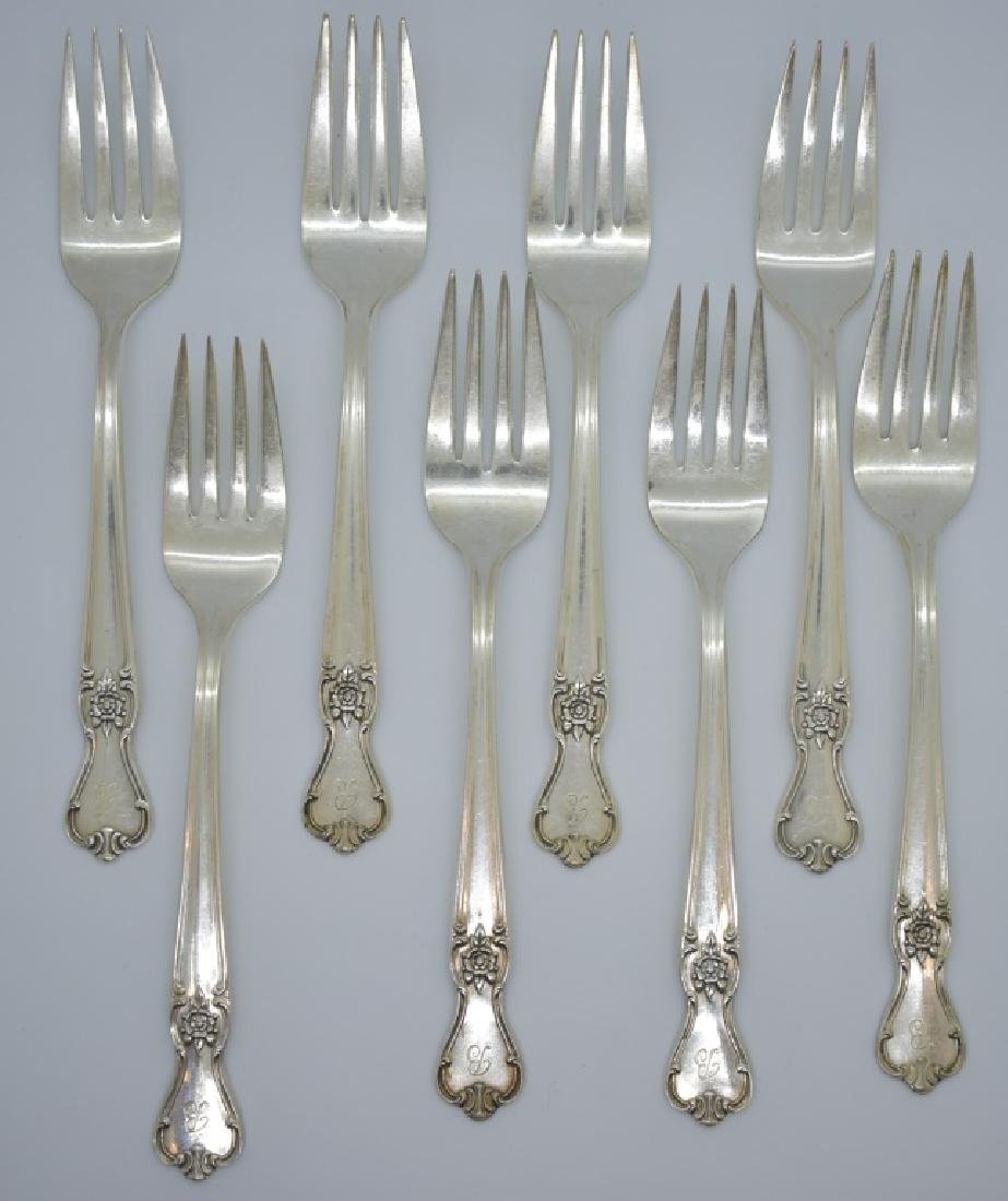 17 pcs. Silver Plate Forks and Spoons