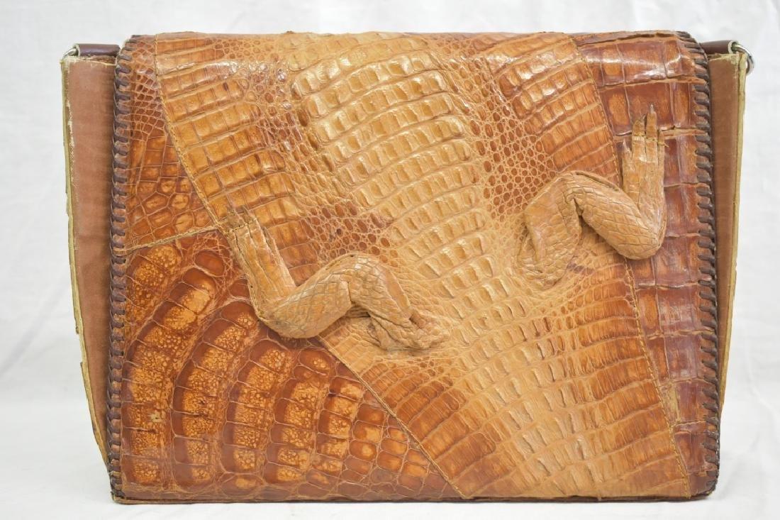 Vintage Cuban Alligator Purse - 2