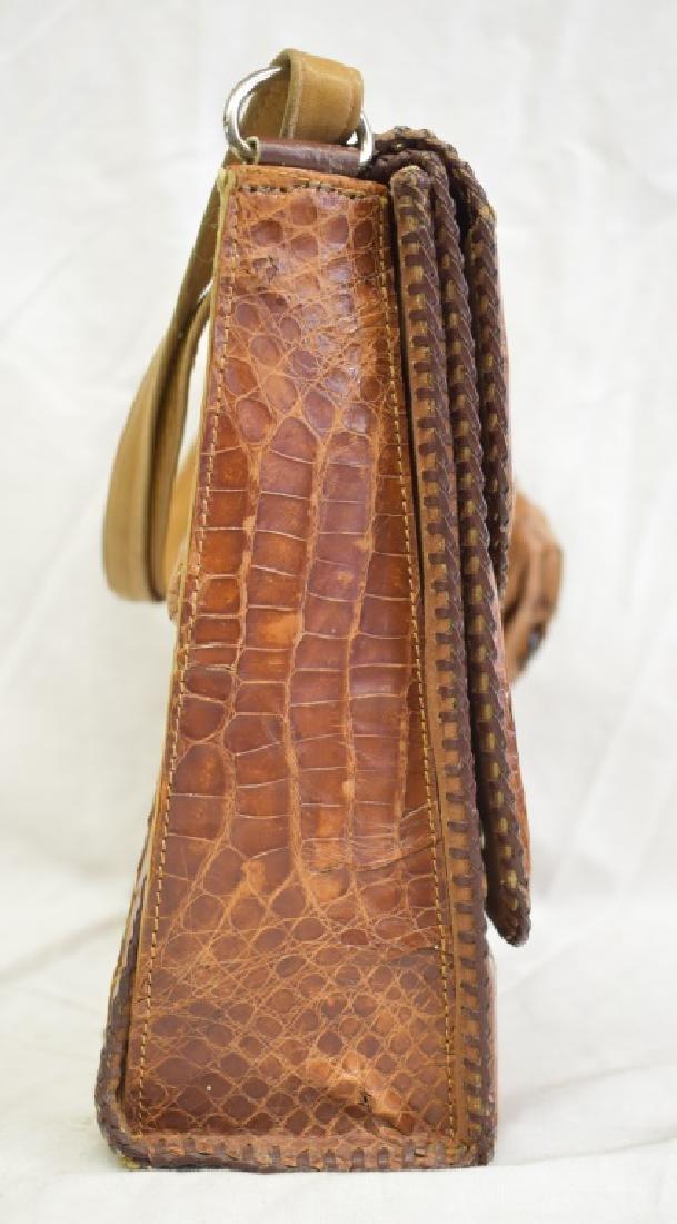 Vintage Cuban Alligator Purse - 3