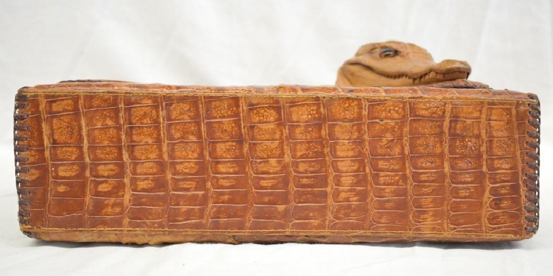 Vintage Cuban Alligator Purse - 4