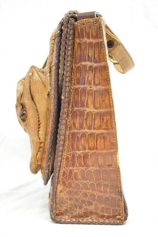 Vintage Cuban Alligator Purse - 8