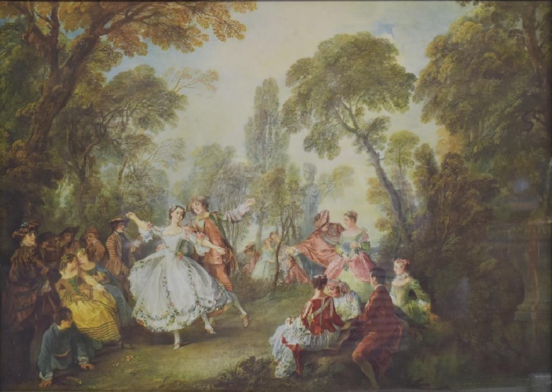 After Nicolas Lancret La Camargo Dancing Print