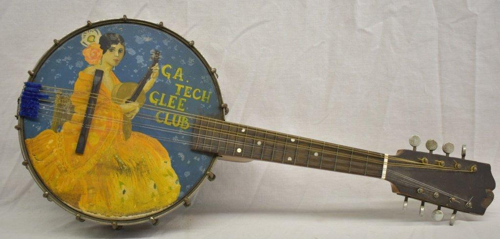 Antique Weymann Keystone GA Tech Banjo Mandolin