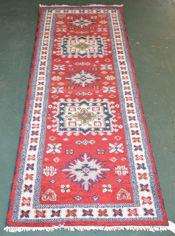 Indo-Kazak Carpet Runner - 2946