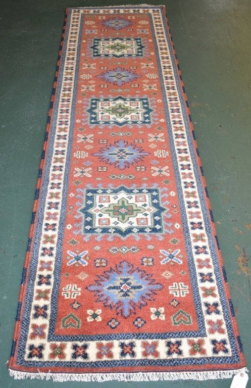 Indo-Kazak Carpet Runner- 2988