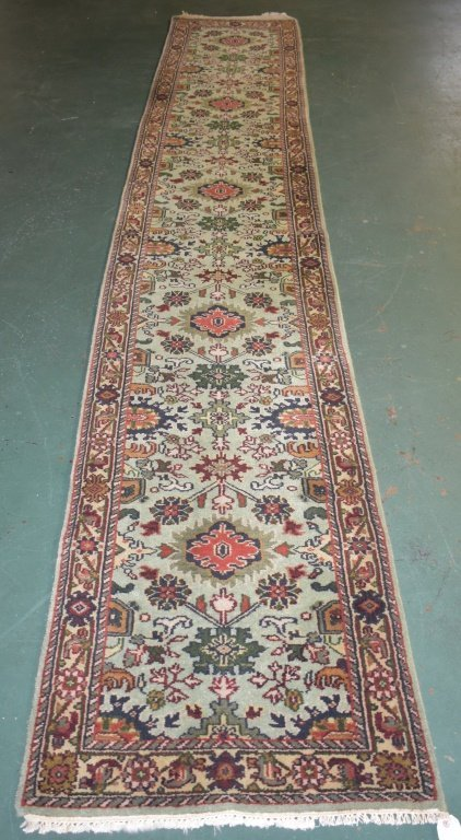 Indo-Mahal Carpet Runner - 2531