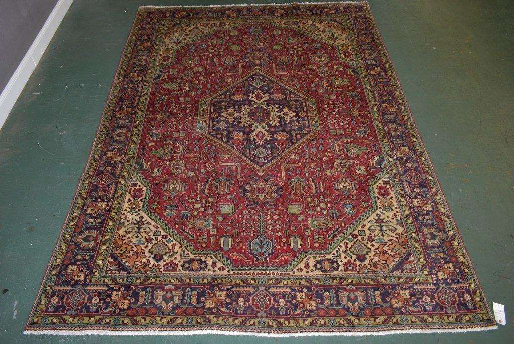 Persian Tabriz Carpet - 5269