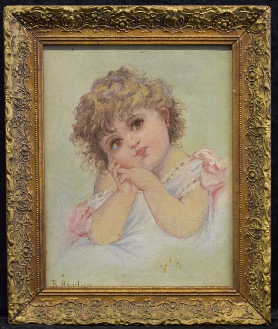 B. Anastram O/C Portrait of a Young Girl