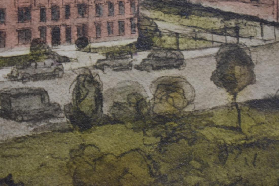 1936 George D. Lee Distillery Landscape Watercolor - 7