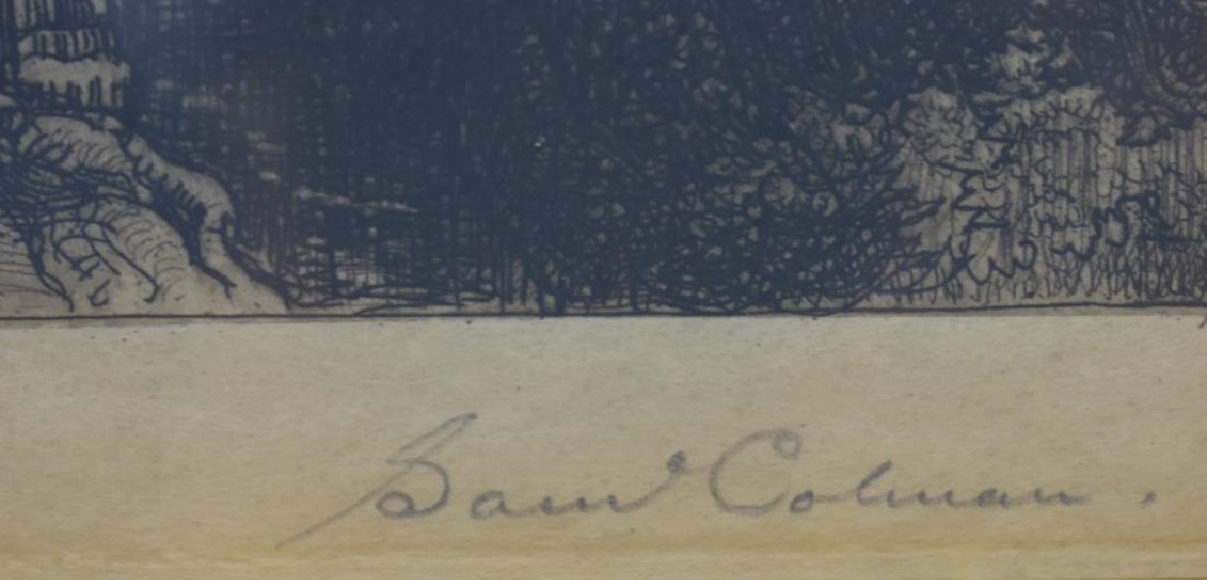 Samuel Colman Etching - Pencil Signed - 4