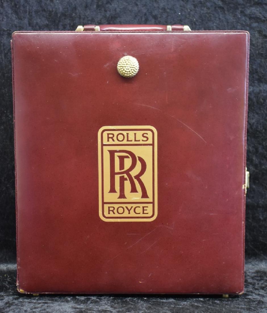 Vintage Rolls Royce Travel Bar - 8
