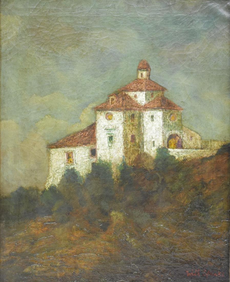 Will Sparks Spanish Mission Landscape O/C