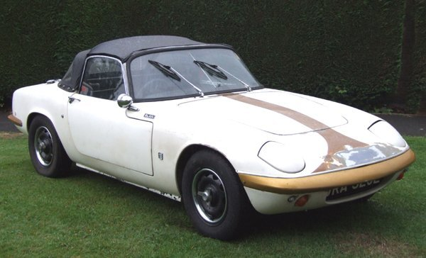 353: 1967 Lotus Elan   fitted with a new chassis by Lot